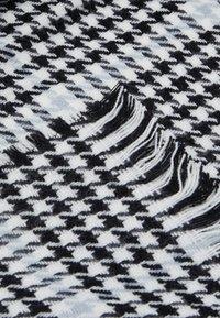 ONLY - ONLSIA SCARF  - Scarf - blue fog/black/white - 2