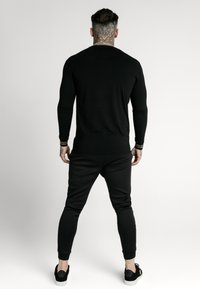 SIKSILK - ELEMENT GYM TEE - Long sleeved top - black/gold - 2