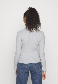 Hollister Co. - T-shirt à manches longues - grey - 2