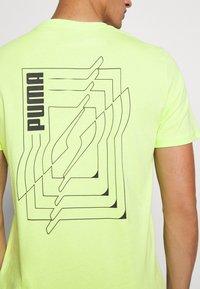 Puma - DEPTH TEE - T-shirt print - sharp green - 3