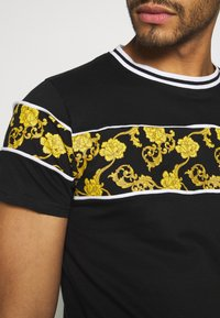 Brave Soul - T-shirt med print - black/multi - 5