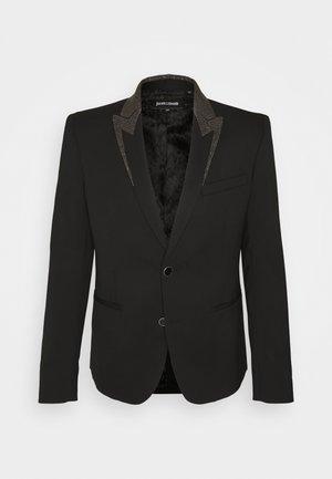 JACKET - Veste de costume - black