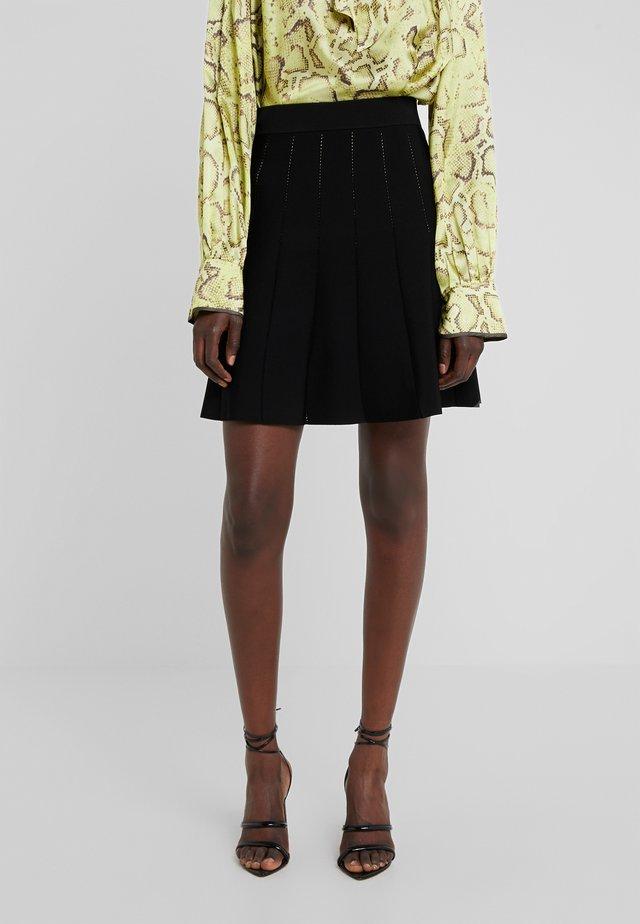 TUTTAVIA GONNA - A-line skirt - black