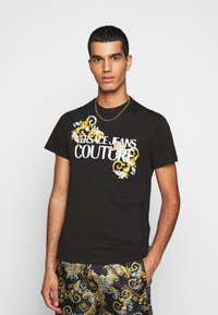 Versace Jeans Couture - MOUSE - Print T-shirt - black - 0