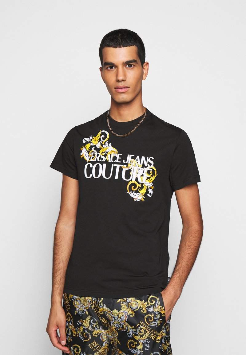 Versace Jeans Couture - MOUSE - Print T-shirt - black