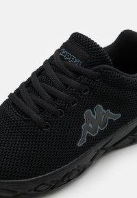 Kappa - CLIFFIN UNISEX - Sports shoes - black - 5