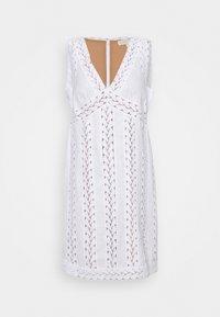 MICHAEL Michael Kors - STRIPED ROPE MINI DRESS - Day dress - white - 6