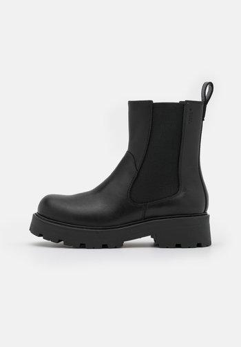 COSMO  - Platåstøvletter - black