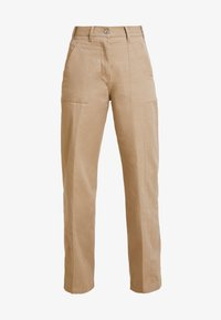 G-Star - ARMY WIDE LEG - Flared jeans - sahara - 3