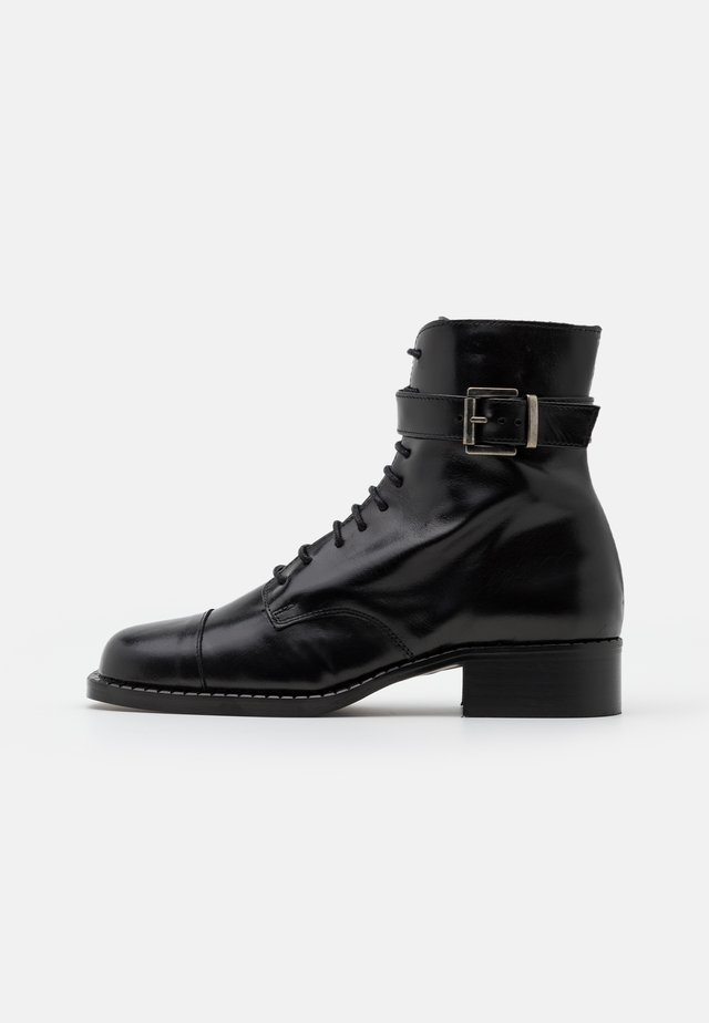 BENITO - Lace-up ankle boots - noir