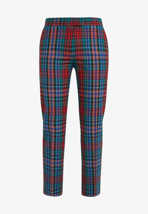 Trousers - red/multi-coloured