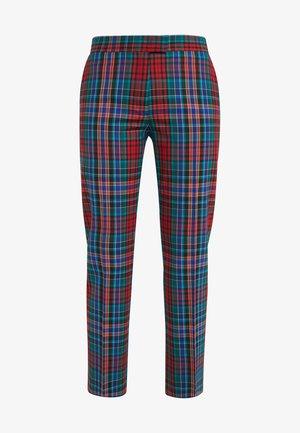 Spodnie materiałowe - red/multi-coloured