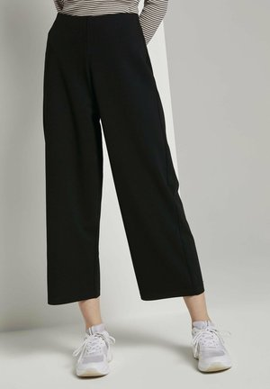 Trousers - deep black