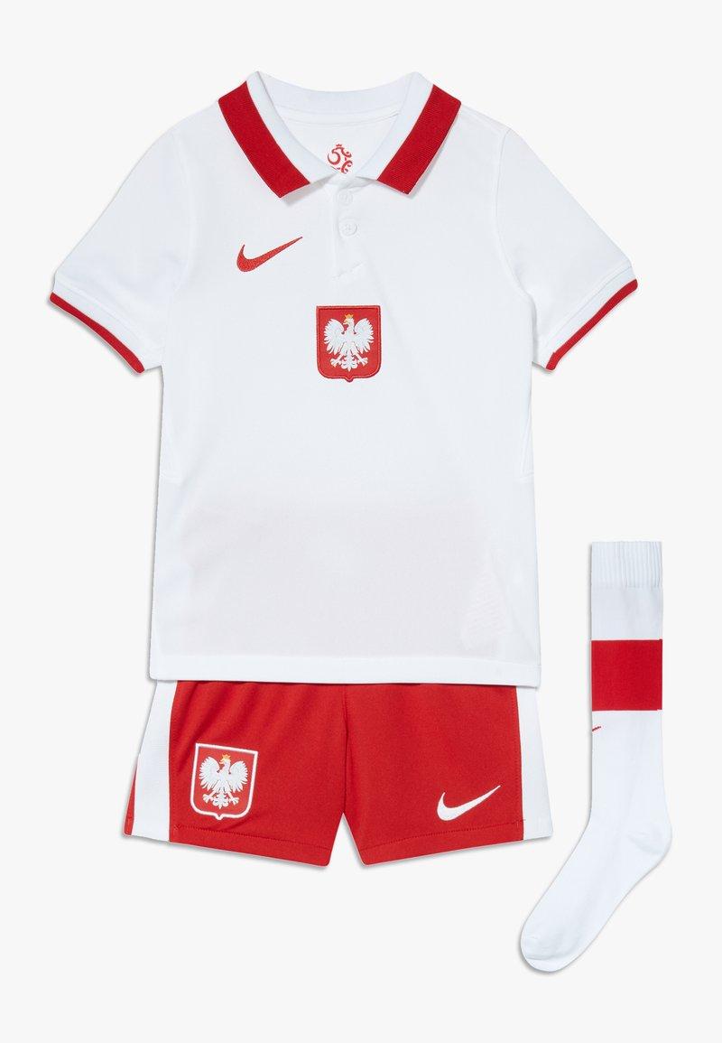 Nike Performance - POLEN LK NK BRT KIT HM SET - Club wear - white/red