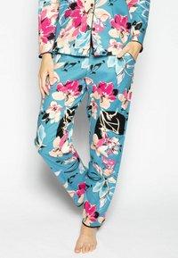 Cyberjammies - Pyjamahousut/-shortsit - turq floral - 0