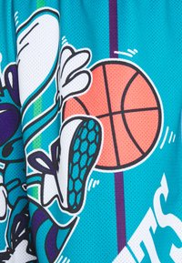 Mitchell & Ness - NBA CHARLOTTE HORNETS BIG FACE BLOWN OUT FASHION - Club wear - teal - 2