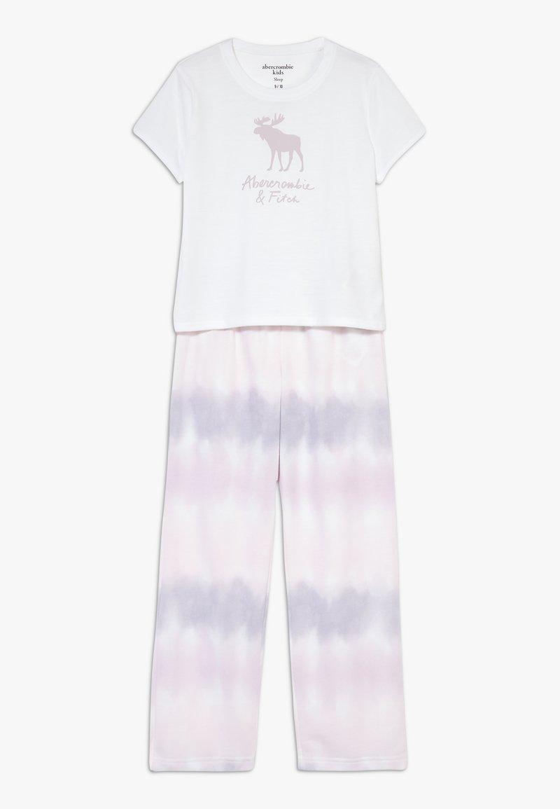 Abercrombie & Fitch - SLEEP SET  - Nattøj sæt - white