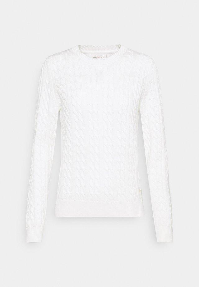 LORENA - Trui - off white
