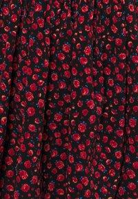 ONLY - ONLTESSA SHORT DRESS  - Day dress - black/paris ditsy /mars red - 2