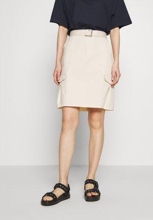 STRANDA SKIRT - Mini skirt - sand