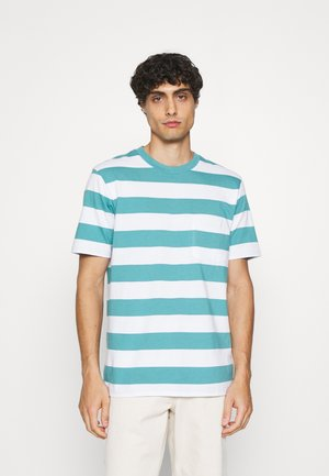 STRPE - T-shirt con stampa - deep sea glass