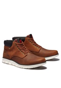 Timberland - Lace-up ankle boots - medium brown nubuck - 1