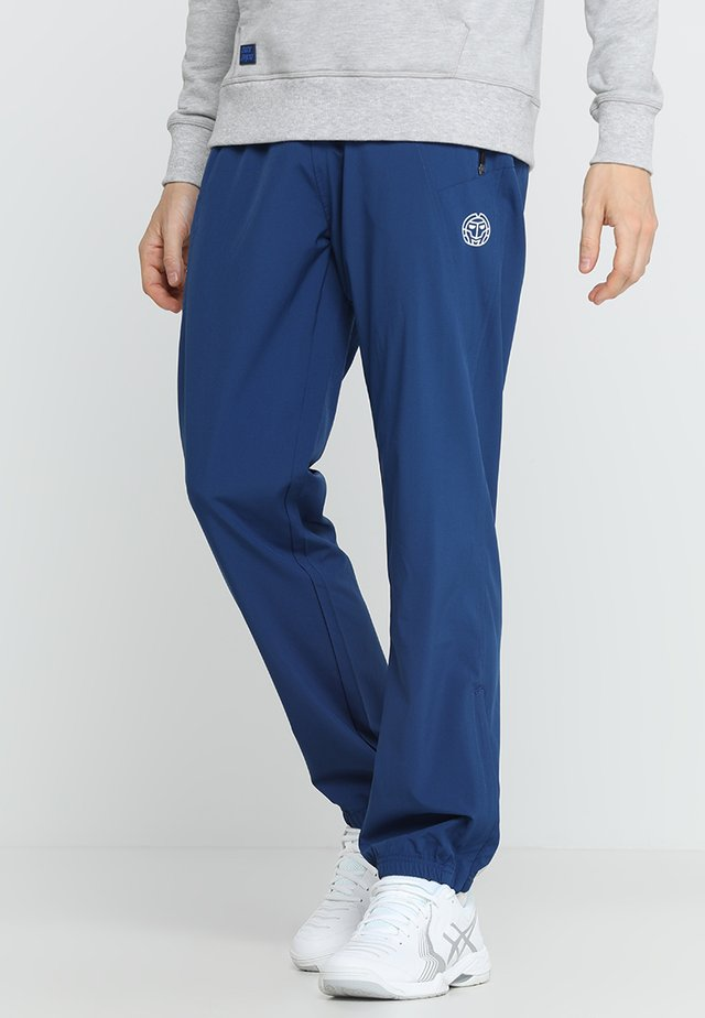 FLINN TECH PANT - Verryttelyhousut - dark blue