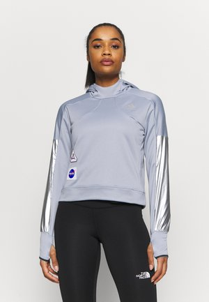 SPACE HOODIE - Jersey con capucha - silver