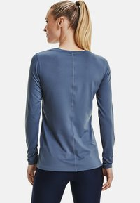 Under Armour - UA ARMOUR LONG SLEEVE - Long sleeved top - mineral blue - 2