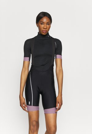 ONPPERFORMANCE BIKE BIB - Tights - black/elderberry