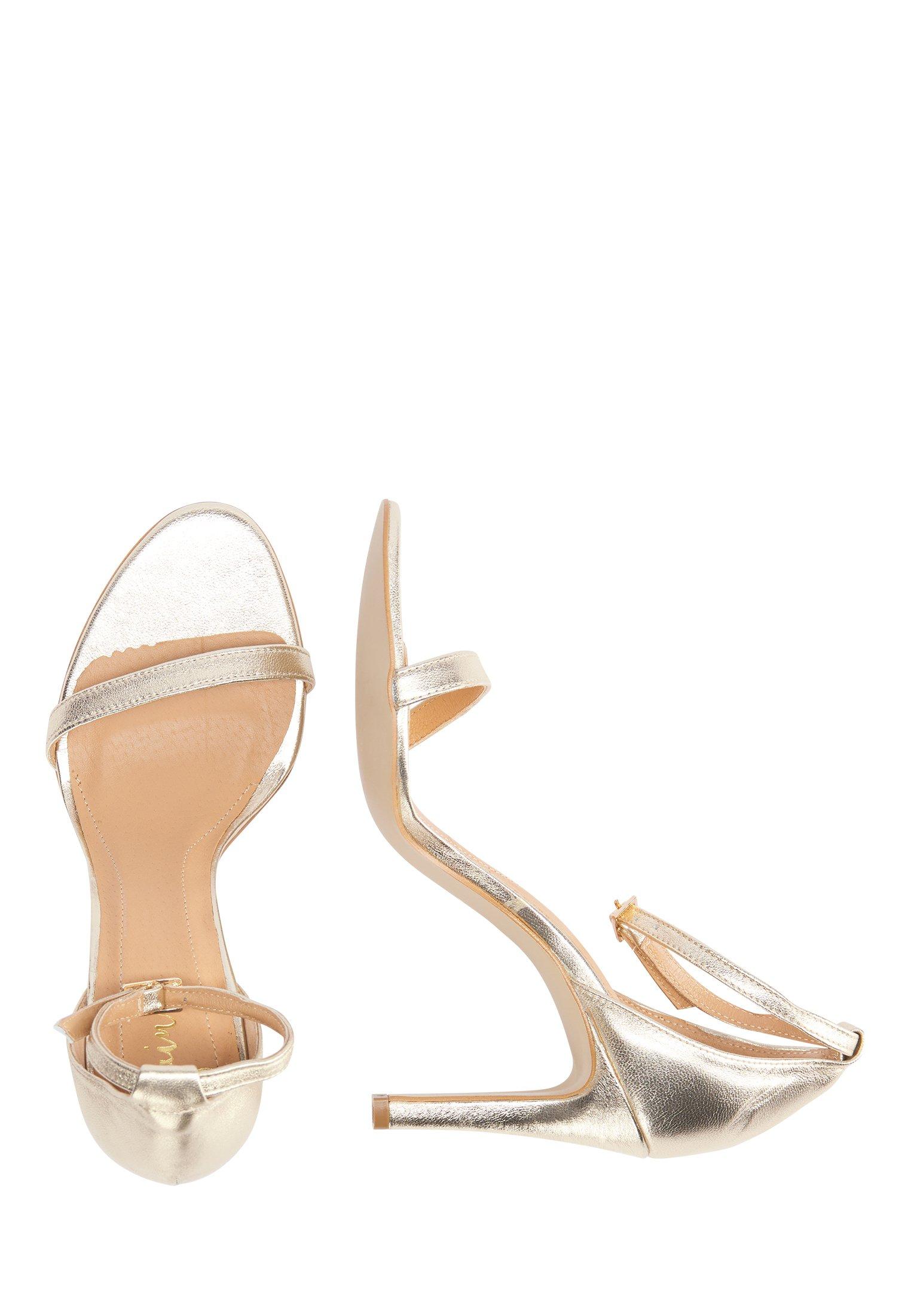 Faina High-heel-sandalette - Højhælede Sandaletter / Sandaler Gold