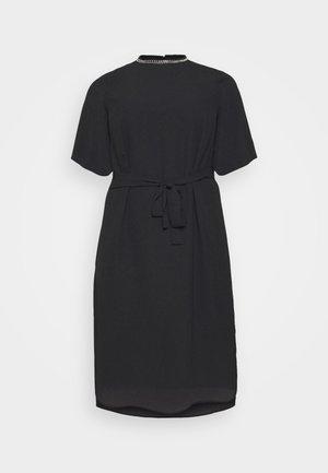 CARIBI BAT SLEEVE CALF DRESS - Vardagsklänning - black