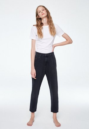 MAIRAA - Jeans Tapered Fit - black