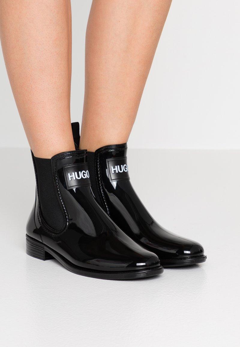 HUGO - NOLITA RAIN BOOTIE - Gummistiefel - black