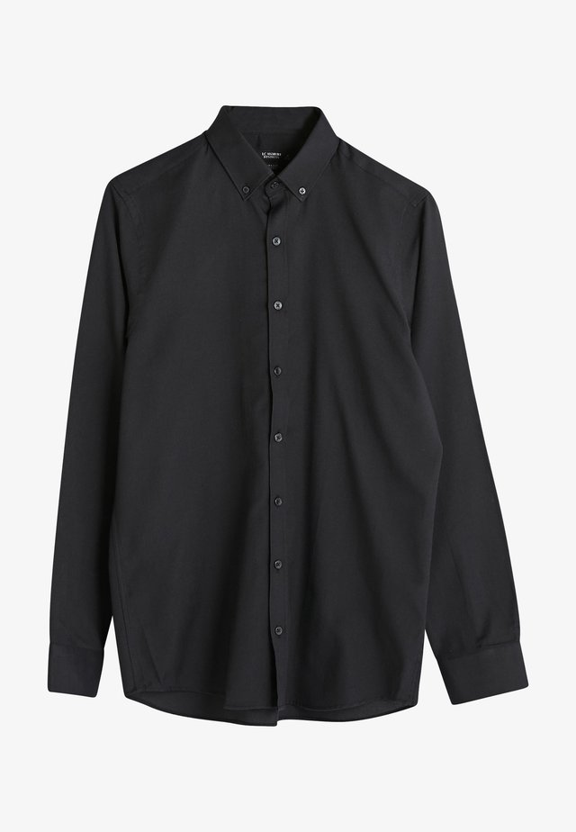 SLIM FIT - Overhemd - black