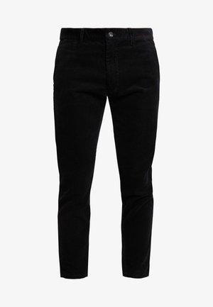 CORDUROY PANTS - Bukse - black