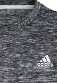adidas Performance - Print T-shirt - schwarz\grey - 2