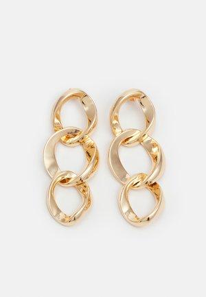PCJUTA EARRINGS - Orecchini - gold-coloured
