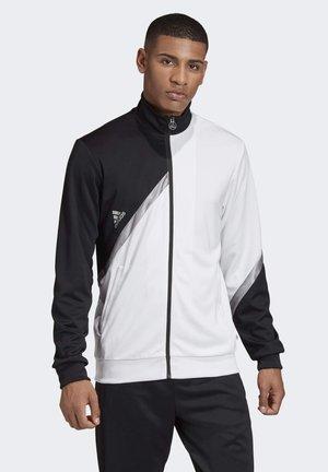 TAN CLUB - Träningsjacka - white/black