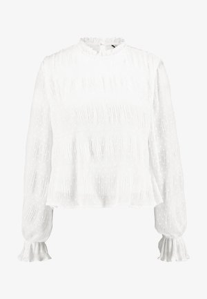 RUCHED BLOUSE - Blouse - white