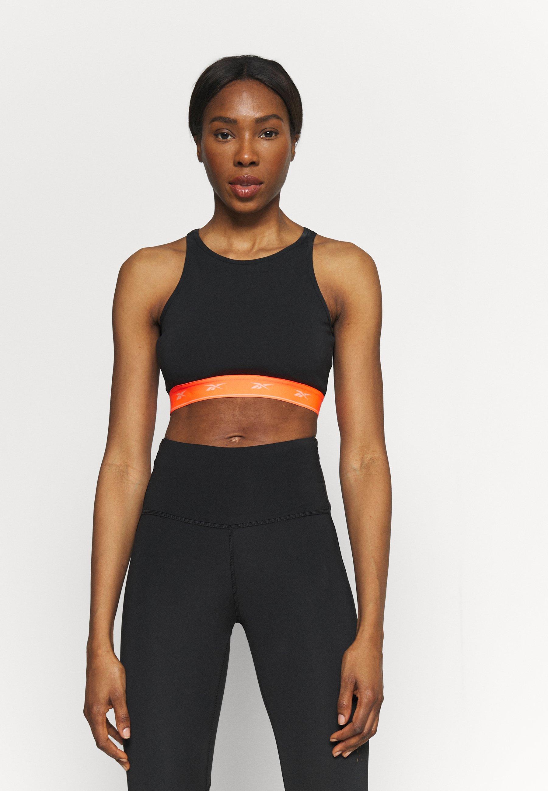 Women BEYOND THE SWEAT CROP - Medium support sports bra