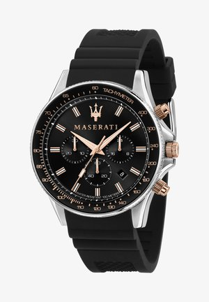 SFIDA - Chronograph watch - schwarz/silber