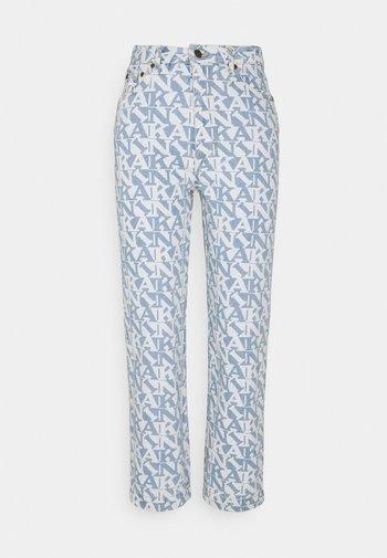 Jean droit - light blue