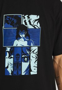 Edwin - HIGH FANTASY TS - T-shirts print - black - 4