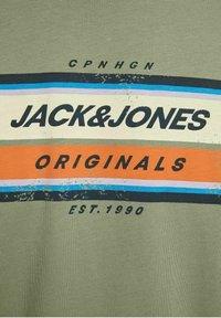 Jack & Jones - JORTYLER TEE CREW NECK  - Print T-shirt - sea spray - 6