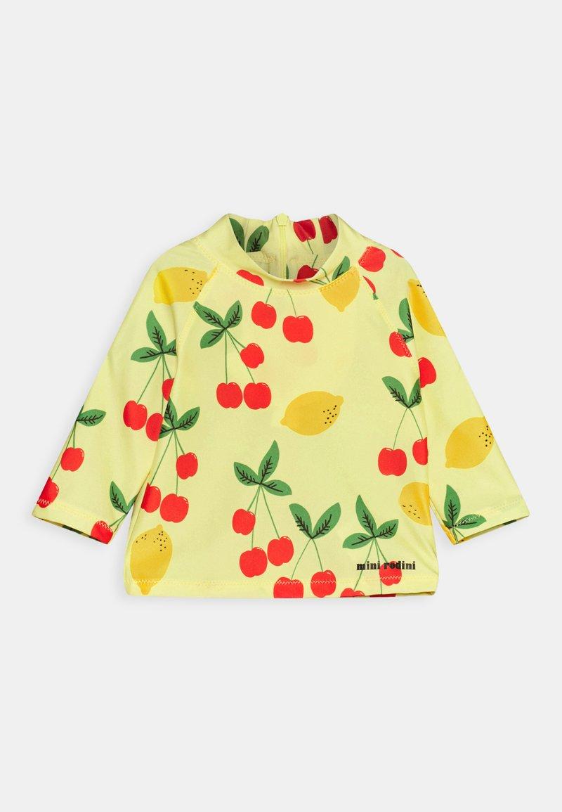 Mini Rodini - CHERRY LEMONADE UNISEX - Rash vest - yellow
