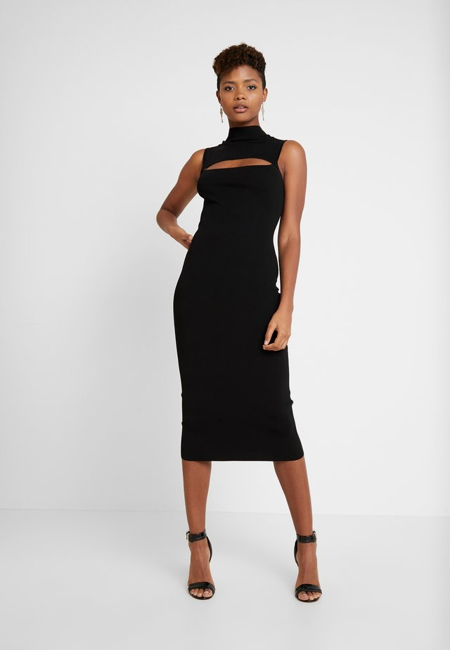 GEORGIE MIDI DRESS - Tubino - black