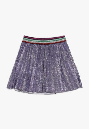 QIRAE - Spódnica trapezowa - lilac