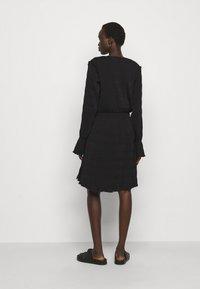 Holzweiler - RICA PLEAT DRESS - Day dress - black - 2