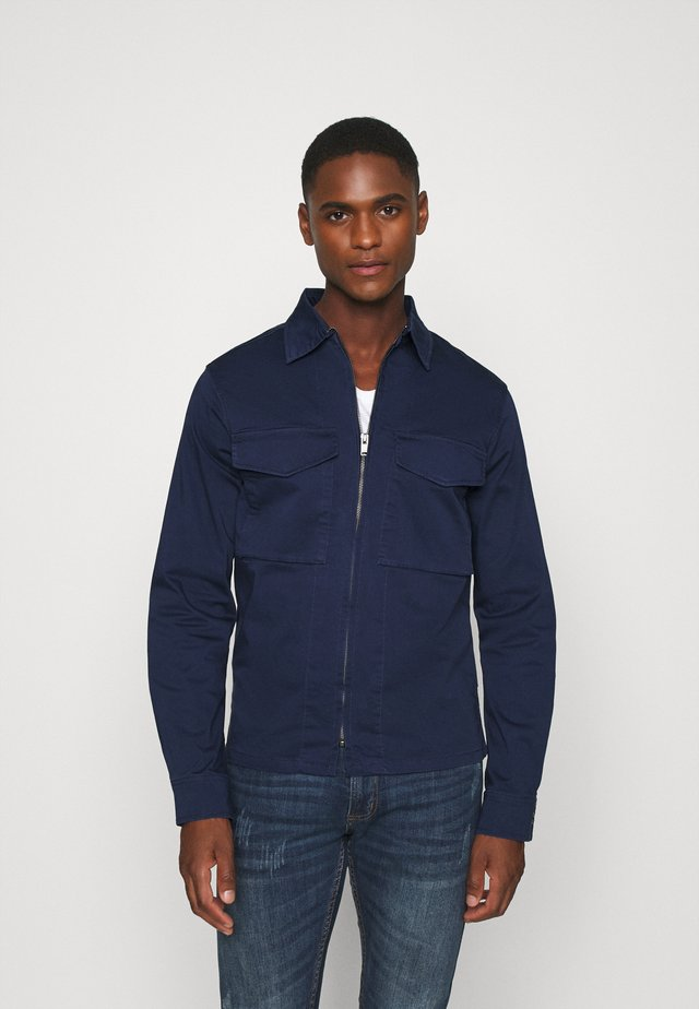 SLHADAM - Summer jacket - medieval blue